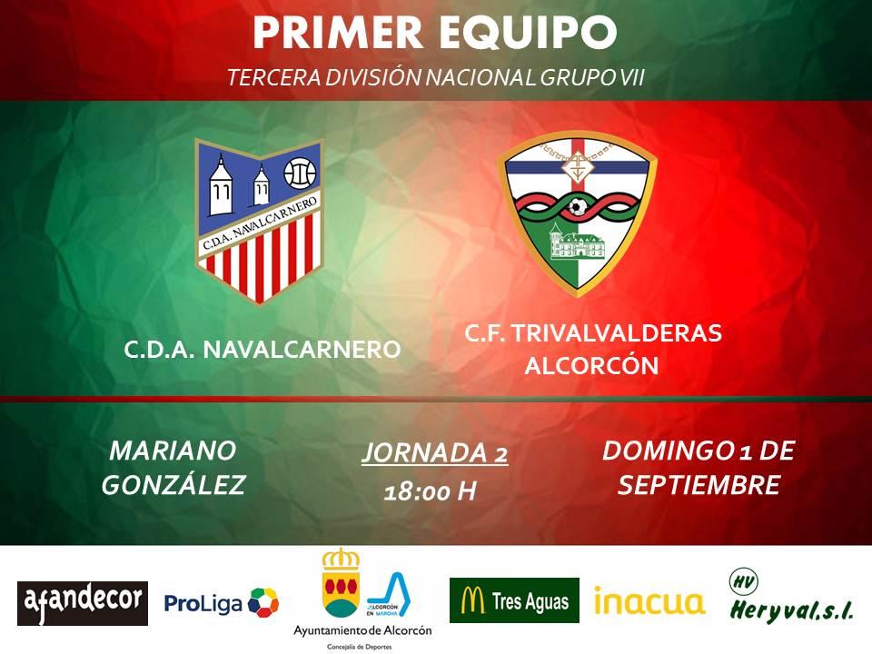 PREVIA TERCERA / Navalcarnero - TRIVALVALDERAS ALCORCÓN