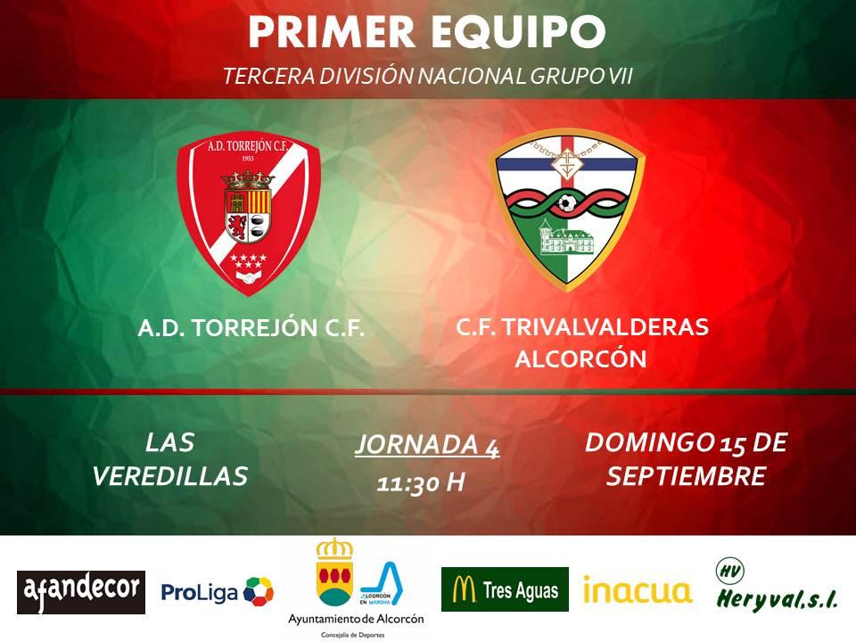 PREVIA TERCERA / Torrejón - TRIVALVALDERAS ALCORCÓN