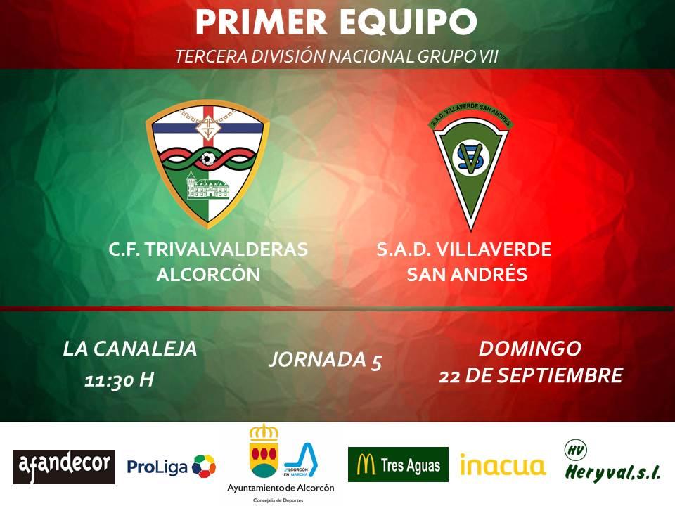 PREVIA TERCERA / TRIVALVALDERAS ALCORCÓN – Villaverde San Andrés