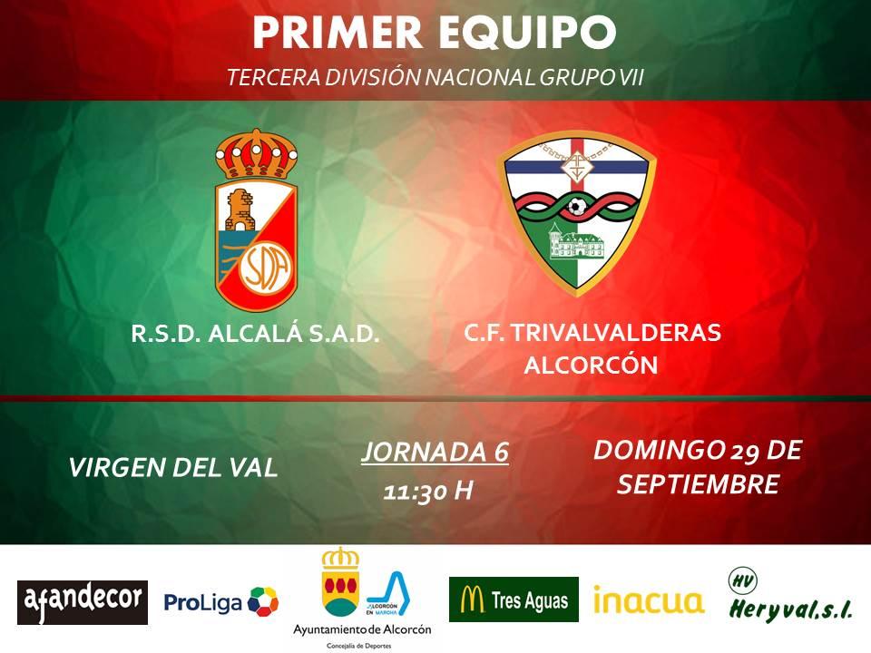 PREVIA TERCERA / Alcalá - TRIVALVALDERAS ALCORCÓN
