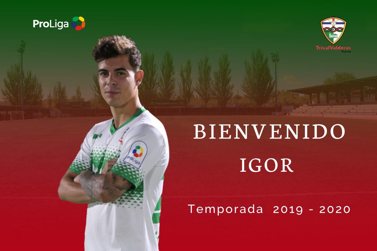 OFICIAL | Igor, nueva incorporación del Primer Equipo