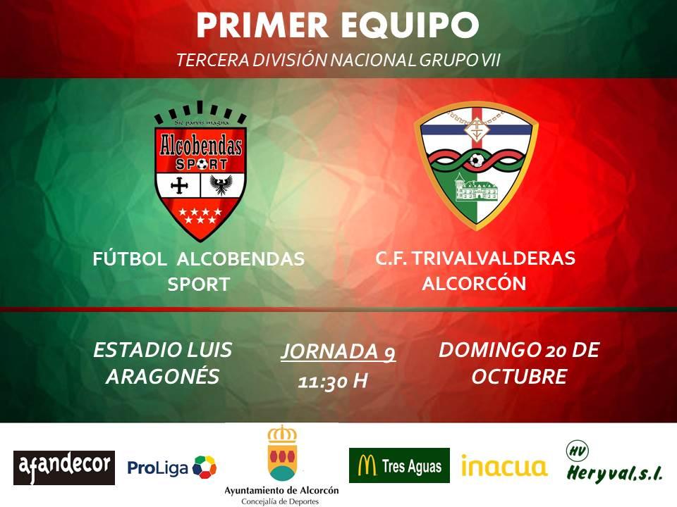 PREVIA TERCERA / Alcobendas Sport - TRIVALVALDERAS ALCORCÓN