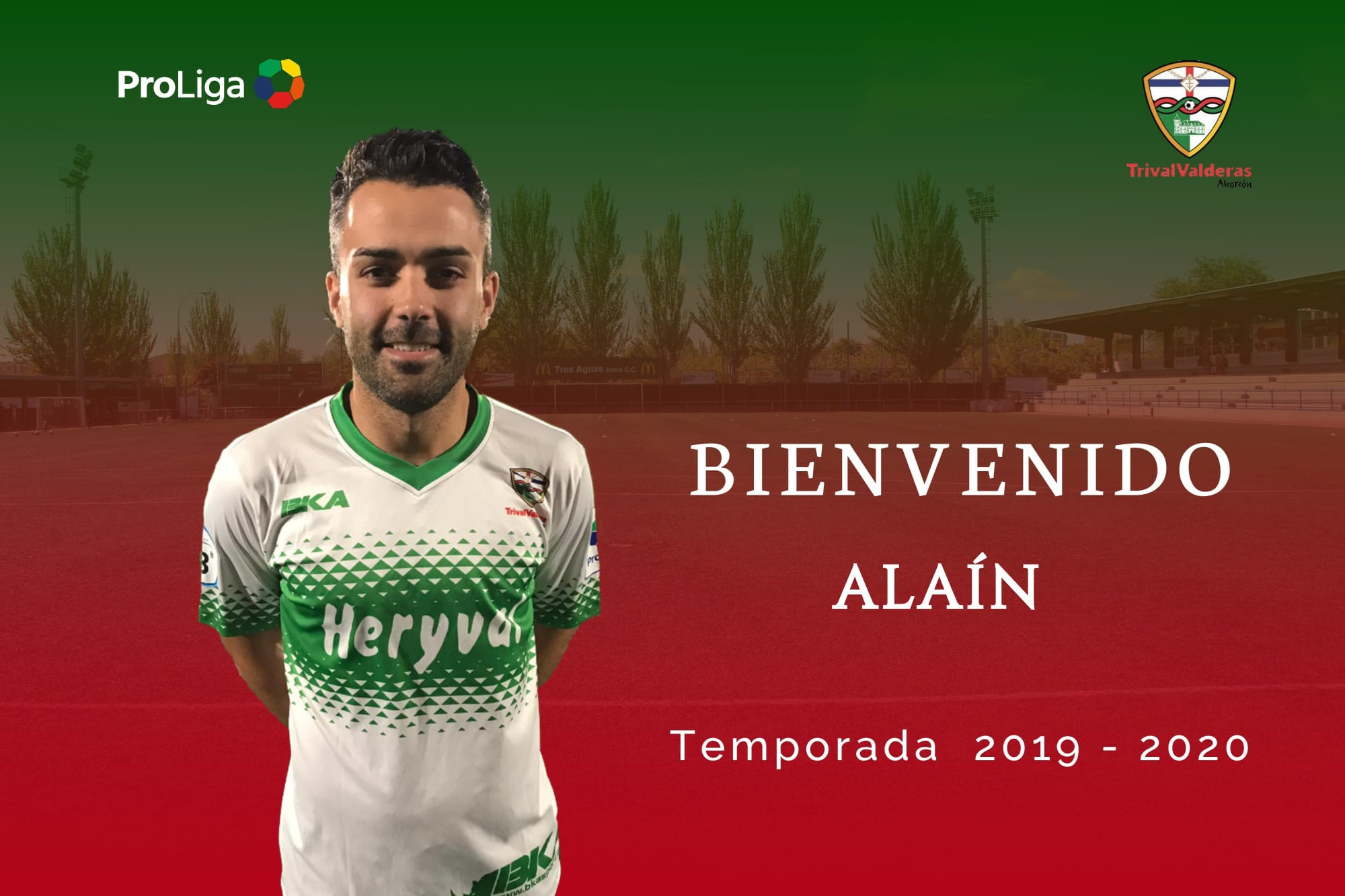OFICIAL | Alaín, nuevo jugador del Primer Equipo
