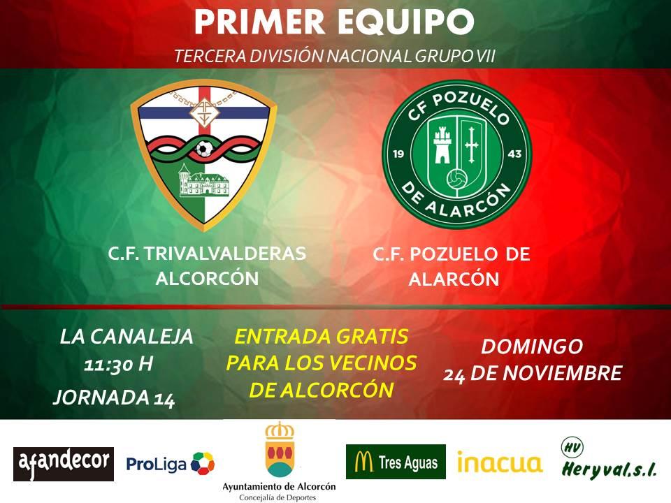 PREVIA TERCERA / TRIVALVALDERAS ALCORCÓN - Pozuelo