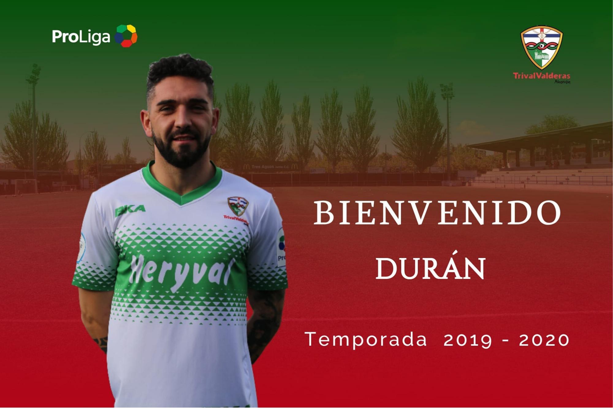 OFICIAL | Durán, nuevo jugador del Primer Equipo