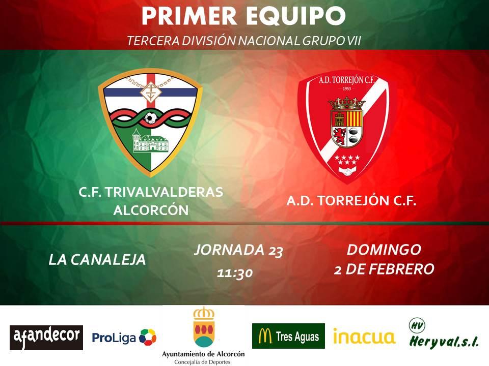 PREVIA TERCERA / TRIVALVALDERAS ALCORCÓN - Torrejón