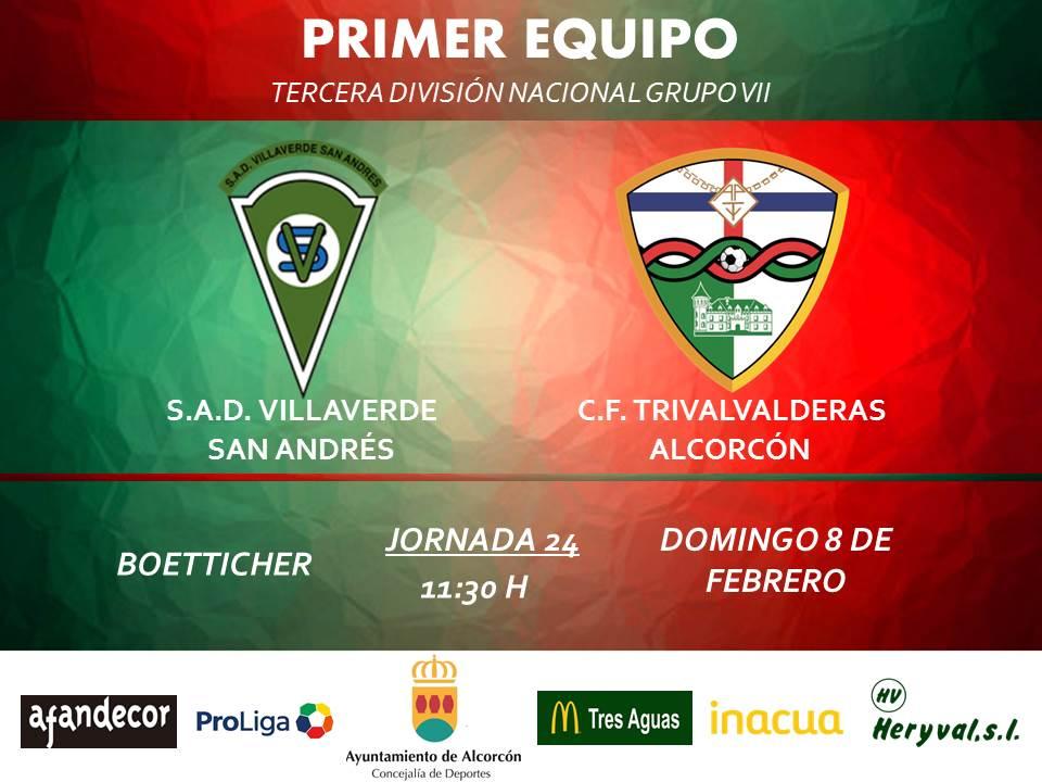 PREVIA TERCERA / Villaverde San Andrés - TRIVALVALDERAS ALCORCÓN