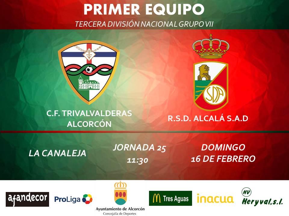 PREVIA TERCERA / TRIVALVALDERAS ALCORCÓN - Alcalá