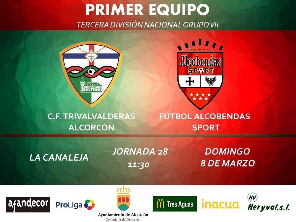 sdsPREVIA TERCERA / TRIVALVALDERAS ALCORCÓN – Alcobendas Sport