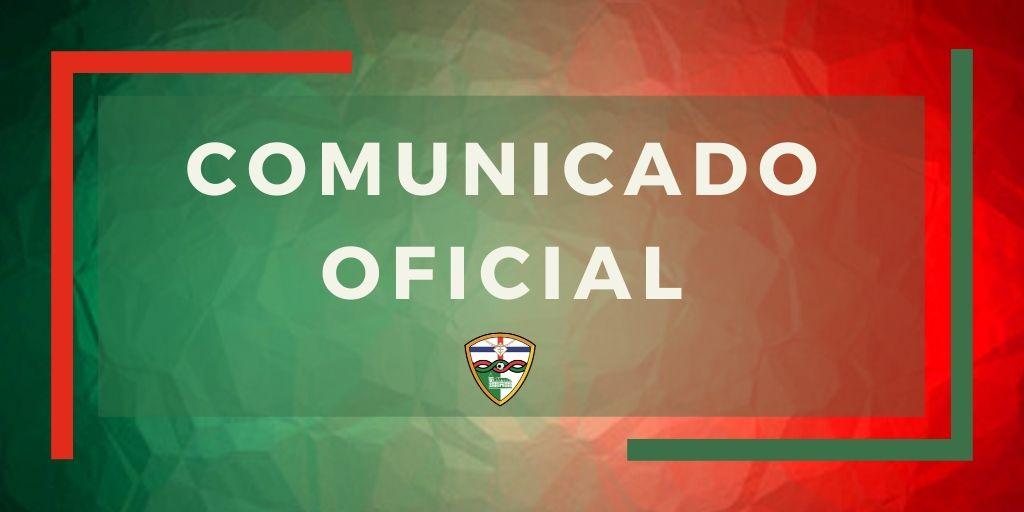 COMUNICADO OFICIAL / Finalizan las temporadas del PRIMER EQUIPO y el JUVENIL NACIONAL tras el comunicado de la RFEF