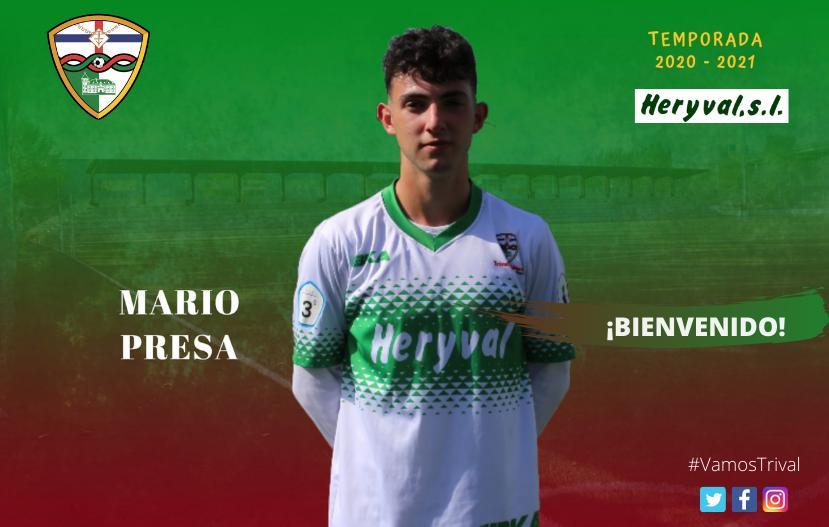 OFICIAL | Mario Presa, sexta incorporación del Primer Equipo
