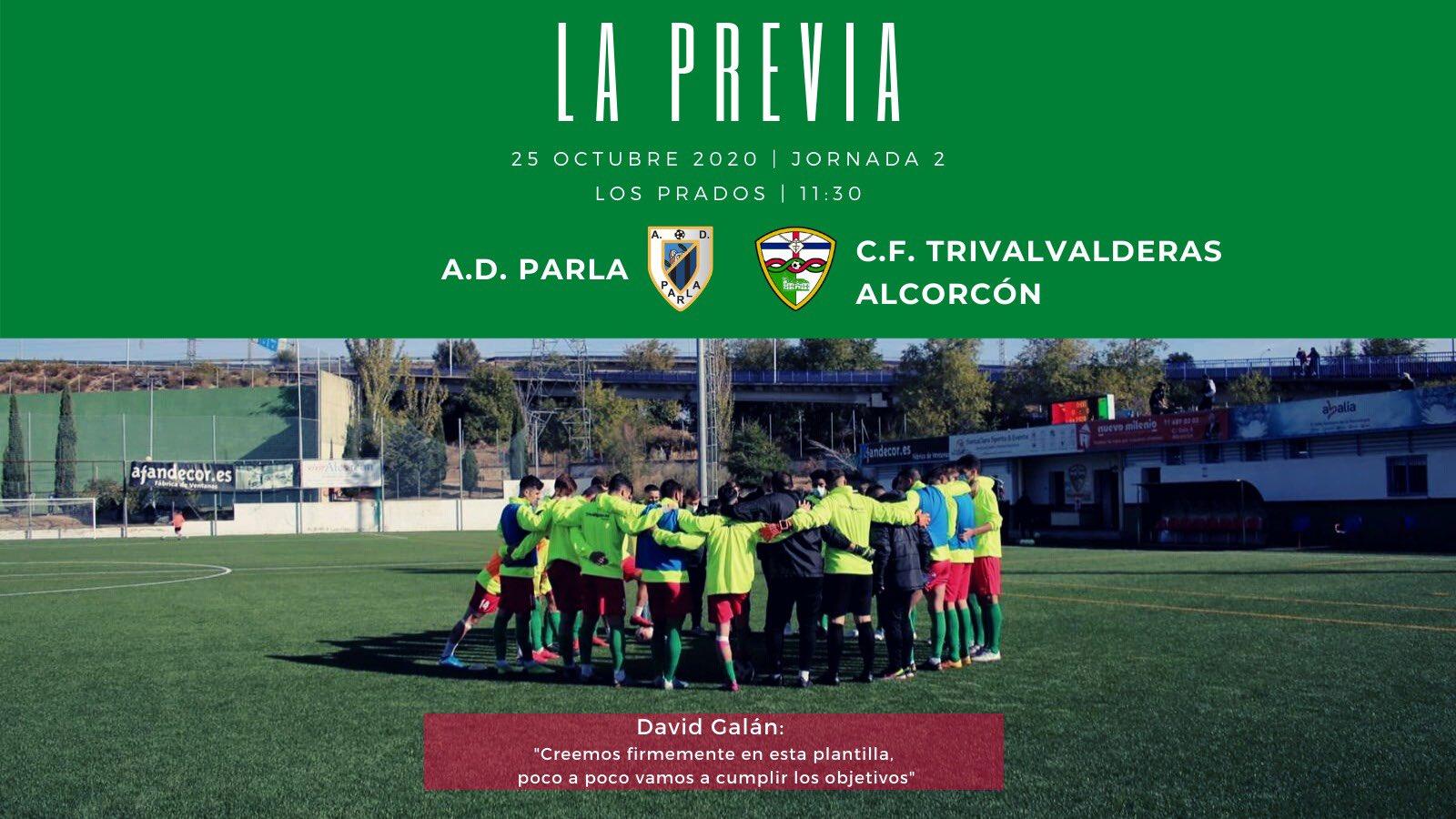 PREVIA J2 | A.D. Parla - C.F. TrivalValderas Alcorcón