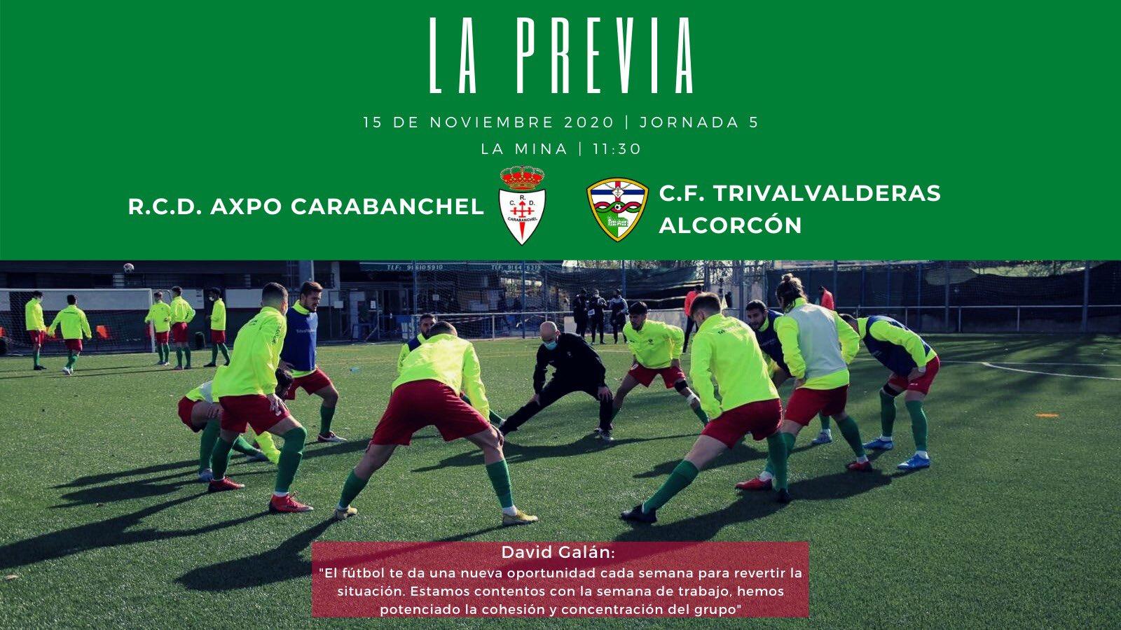 PREVIA J5 |R.C.D. Axpo Carabanchel - C.F. TrivalValderas Alcorcón