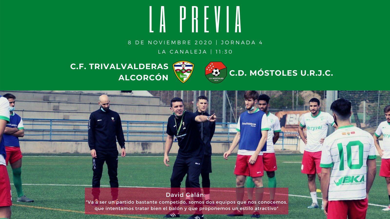 PREVIA J4 |C.F. TrivalValderas Alcorcón - C.D. Móstoles U.R.J.C