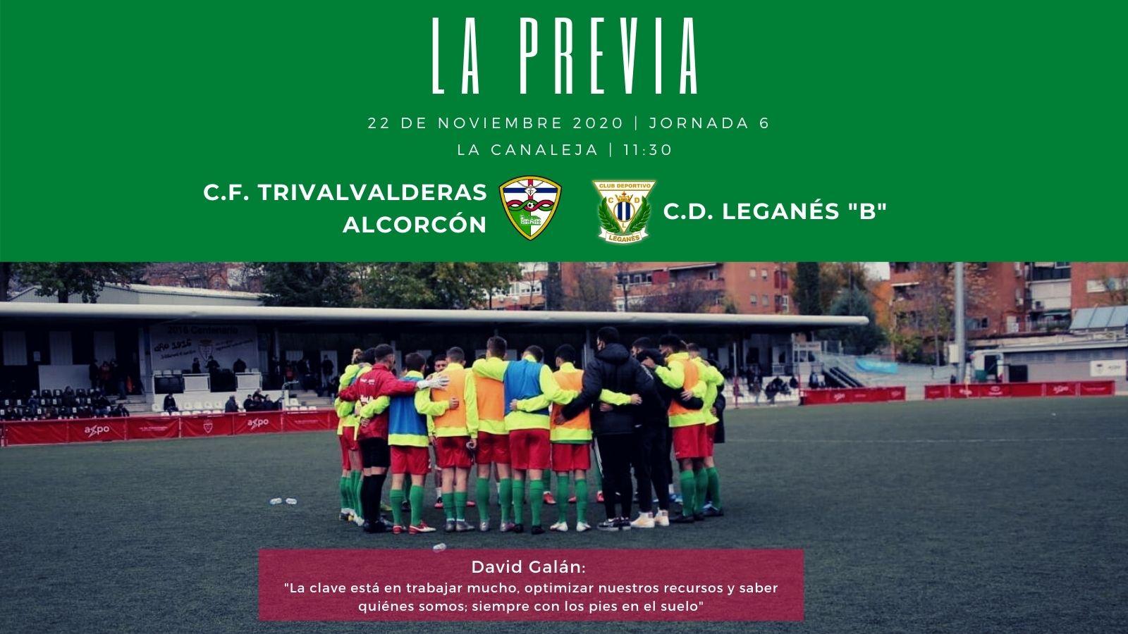 "sdsPREVIA J6 |C.F. TrivalValderas Alcorcón - C.D. Leganés ""B"""