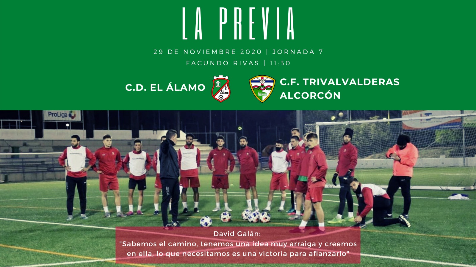 PREVIA J7 |C.D. El Álamo - C.F. TrivalValderas Alcorcón