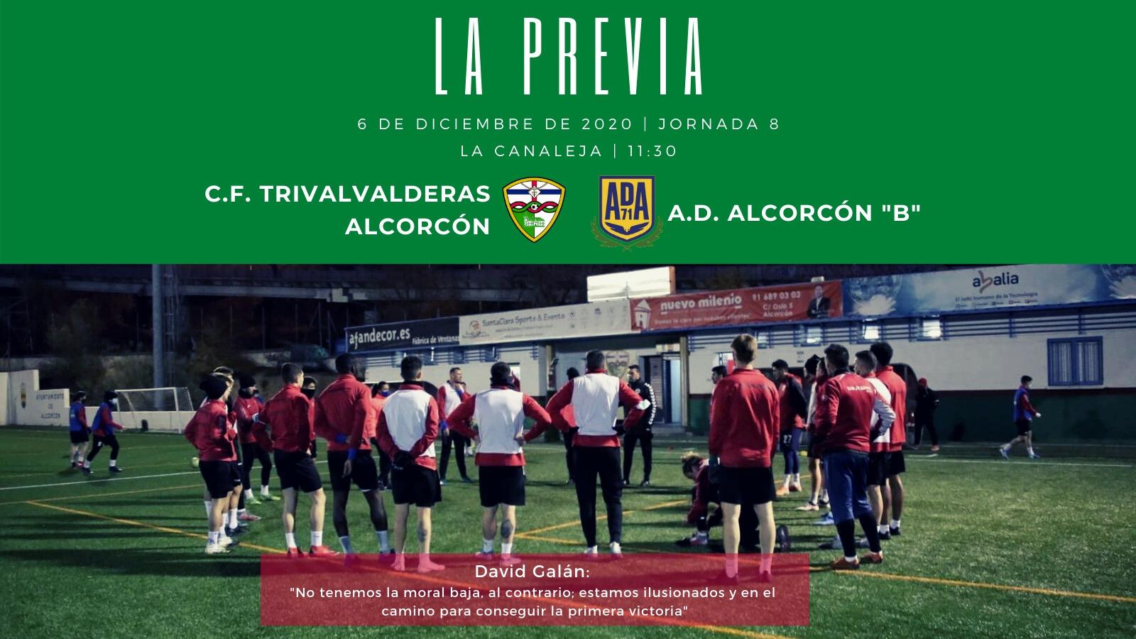PREVIA J8  C.F. TrivalValderas Alcorcón - A.D. Alcorcón B