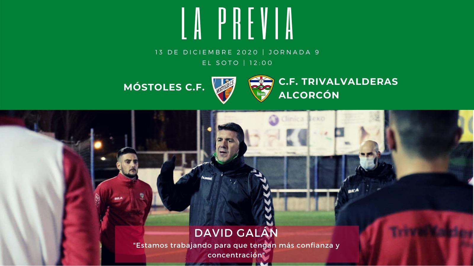 PREVIA J9 |Móstoles C.F. - C.F. TrivalValderas Alcorcón
