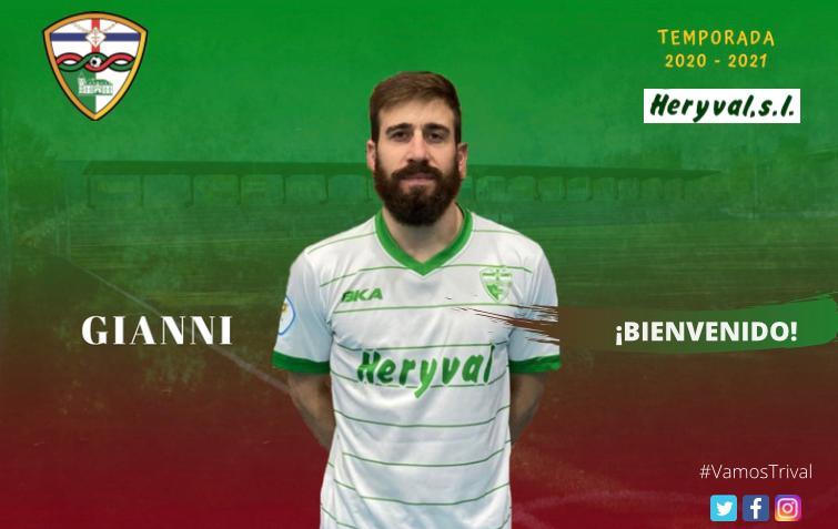 OFICIAL | Gianni, nueva incorporación del Primer Equipo