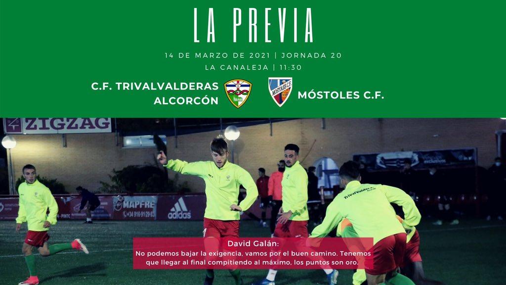 PREVIA J20| C.F. TrivalValderas Alcorcón - Móstoles C.F.