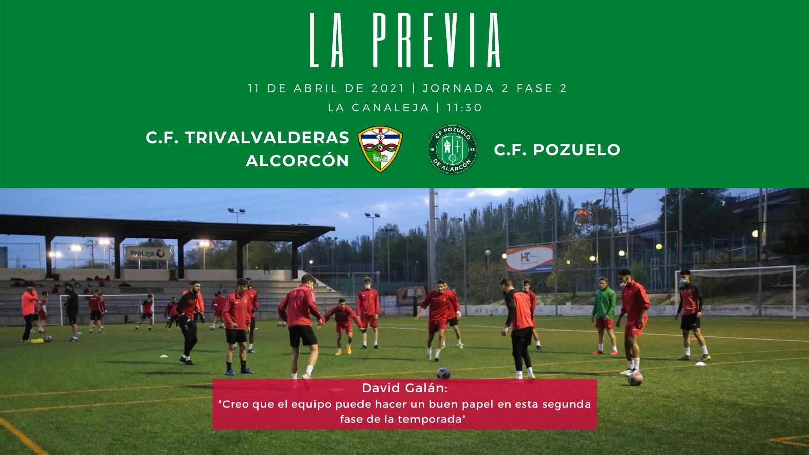 PREVIA J2 FASE 2|C.F. TrivalValderas Alcorcón - C.F. Pozuelo