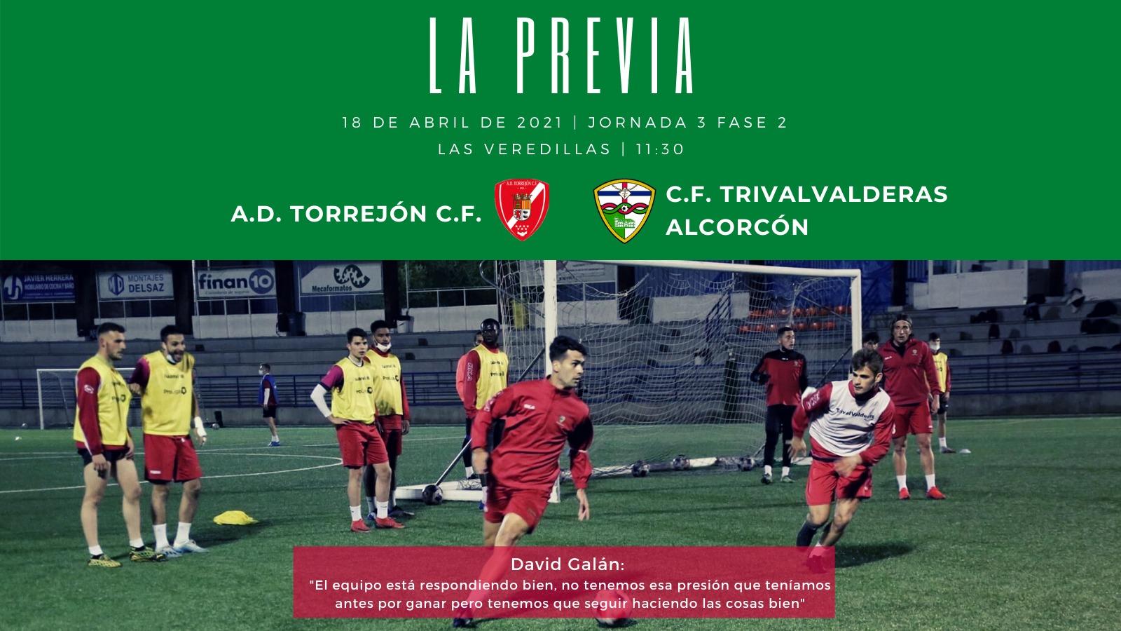 PREVIA J3 FASE 2 | A.D. Torrejón C.F. - C.F. TrivalValderas Alcorcón