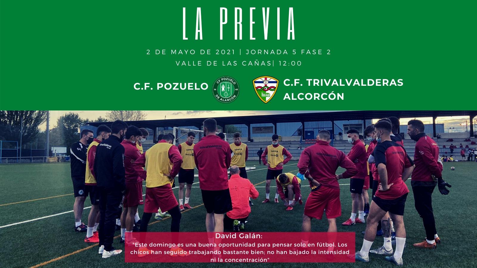 PREVIA J5 FASE 2 | C.F. Pozuelo - C.F. TrivalValderas Alcorcón