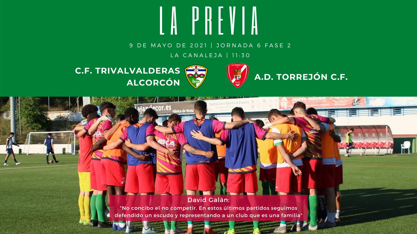 sdsPREVIA J6 FASE 2 | C.F. TrivalValderas Alcorcón - A.D. Torrejón