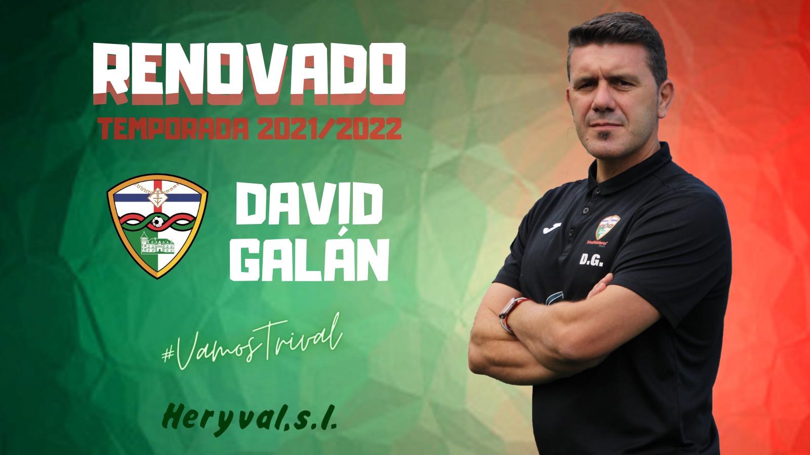 OFICIAL | ¡David Galán continuará la temporada que viene al frente del Primer Equipo!