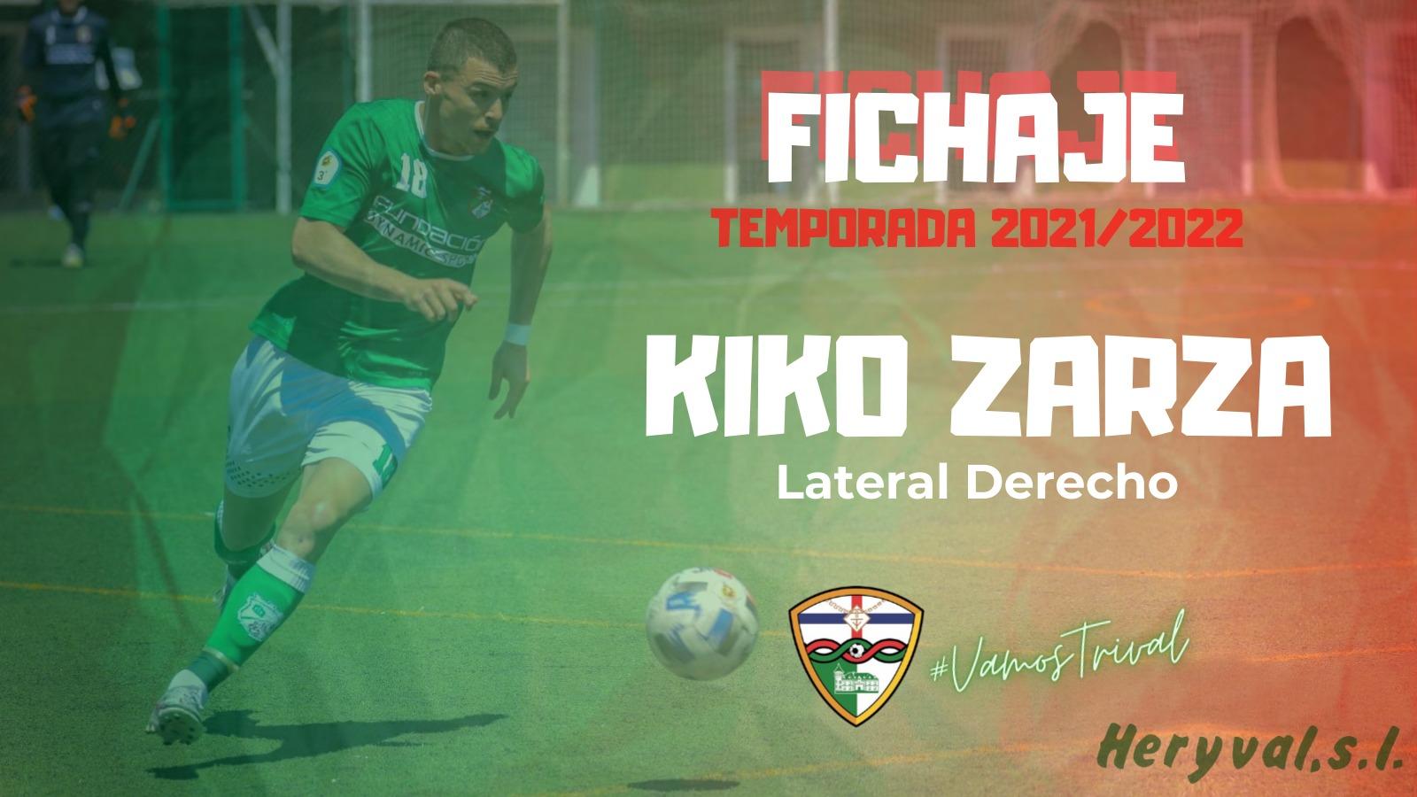 sdsFICHAJE | Kiko Zarza, séptima incorporación del Primer Equipo