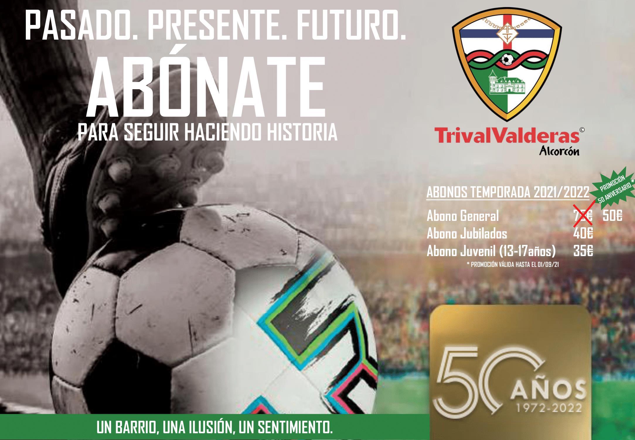 sdsCAMPAÑA DE ABONADOS 50 ANIVERSARIO DEL CLUB