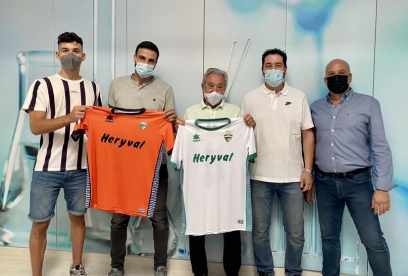 El Primer Equipo presenta a su patrocinador Heryval las camisetas que lucirán los jugadores esta temporada