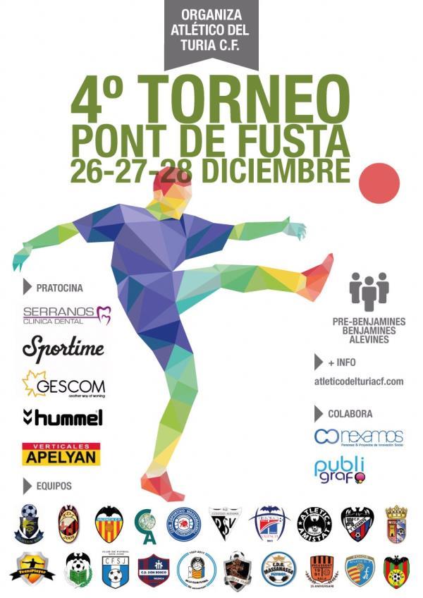 IV TORNEO SOLIDARIO DE NAVIDAD PONT DE FUSTA
