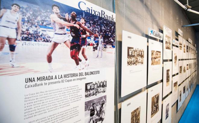 Una muestra en Madrid recorre la historia de la Copa del Rey de baloncesto
