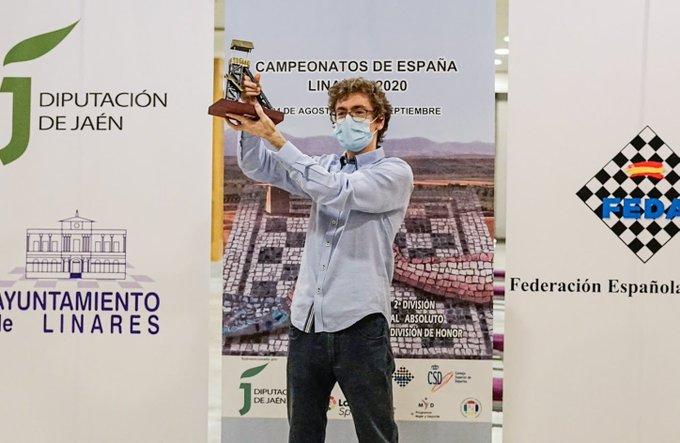 Antón, campeón de España por 1ª vez