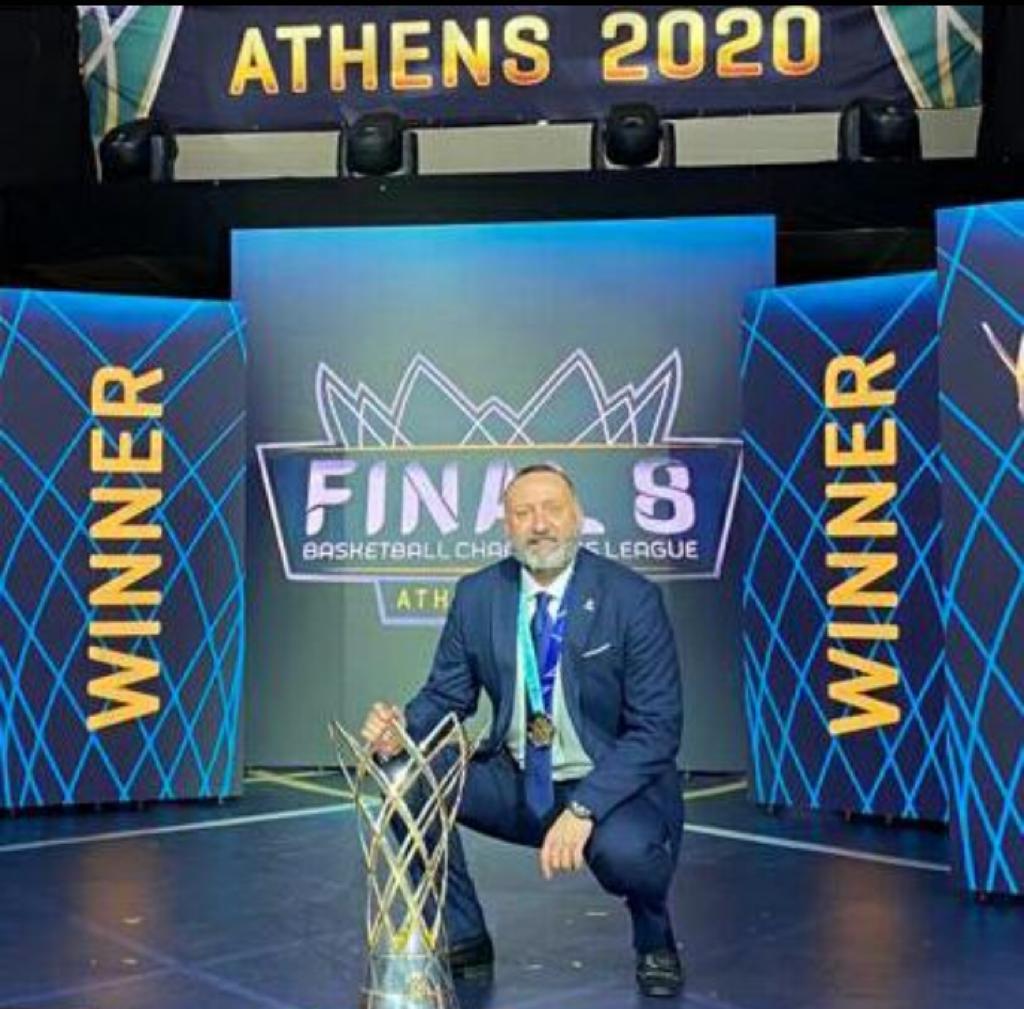 ALBERTO CODESO CAMPEÓN CHAMPIONS FIBA