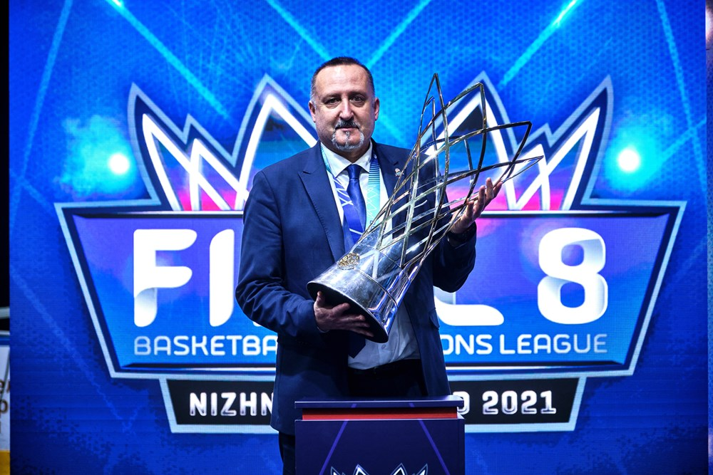 ALBERTO CODESO CAMPEÓN Basketball Champions League