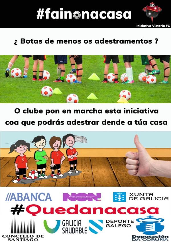 Campaña #fainonacasa