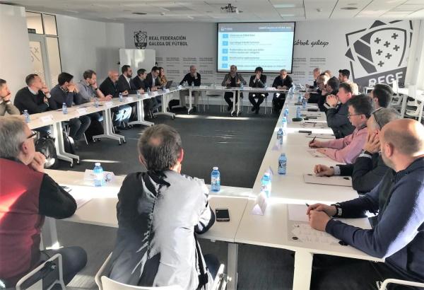 A Cidade das Burgas albergará este venres a reunión do Comité de Fútbol Base