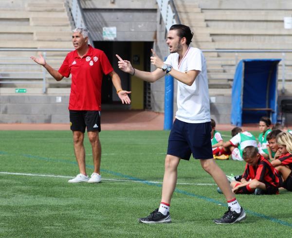 Entrevista con Álvaro Quevedo, entrenador del Benjamín D (Vídeo)