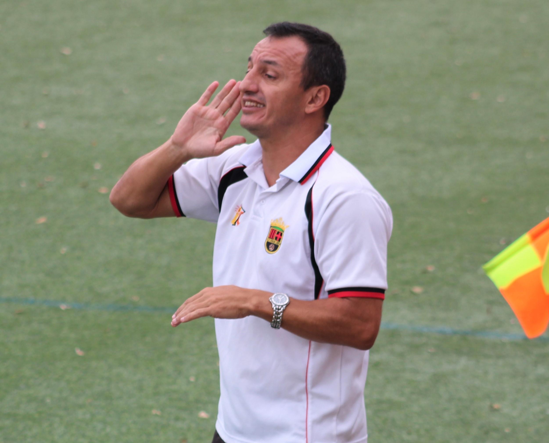 """sdsÁngel Luis Camacho: """"Llegó la victoria en el mejor momento"""""""