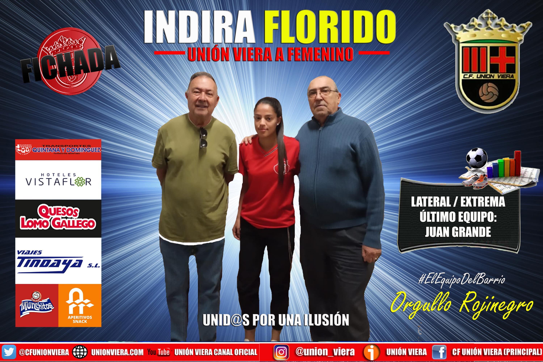 El Viera Femenino completa su plantilla con Indira Florido