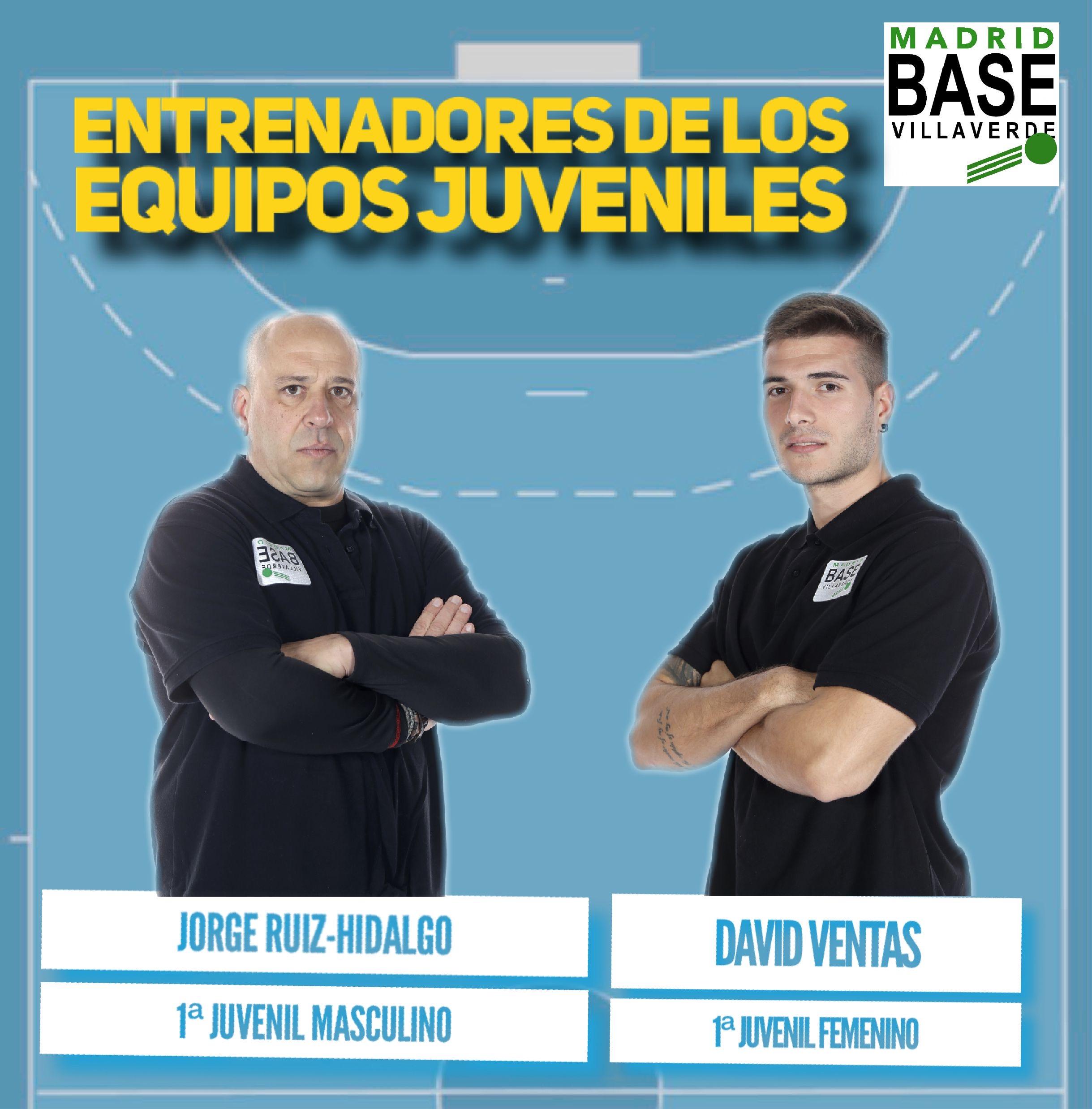 Entrenadores equipos Juveniles