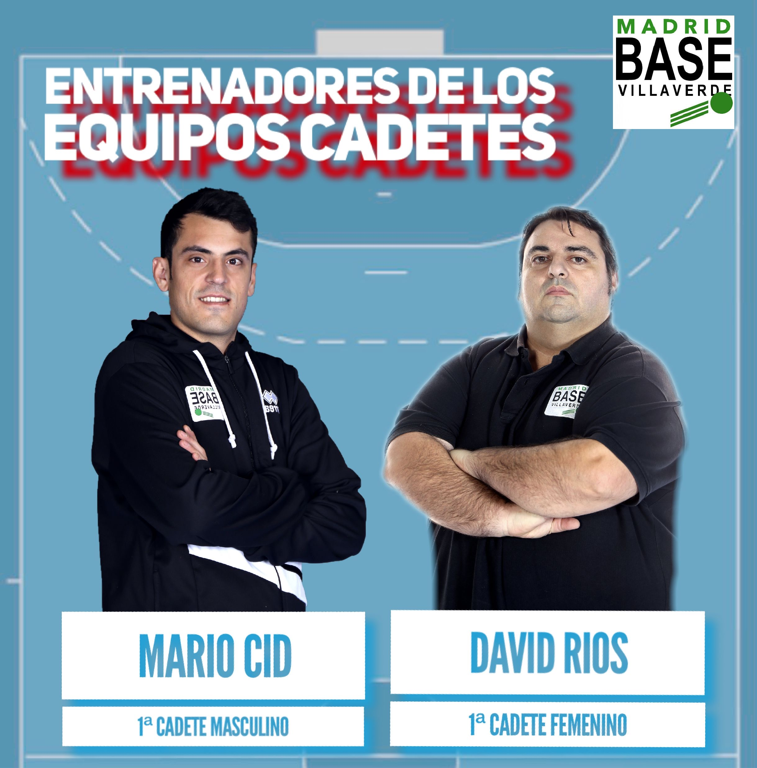 Entrenadores de los equipos Cadetes