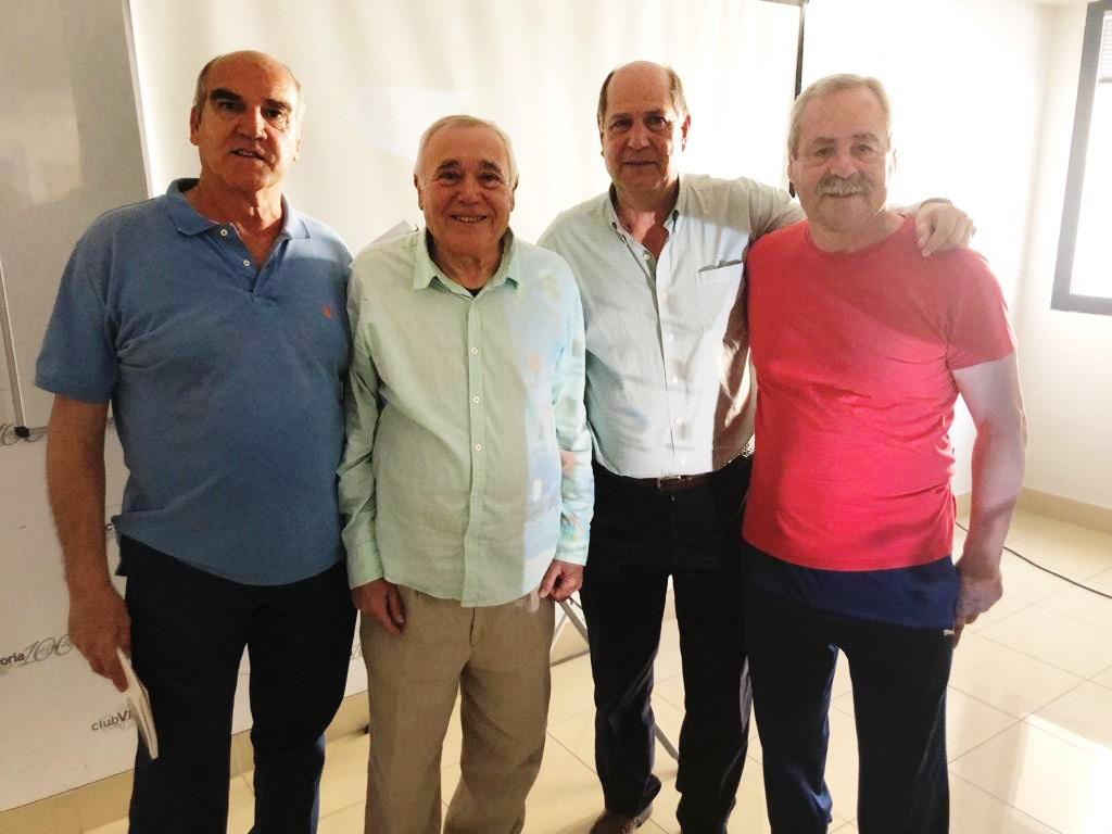 PRESENTACIÓN DE 'CIEN AÑOS DE FÚTBOL CANARIO', EN EL RC VICTORIA
